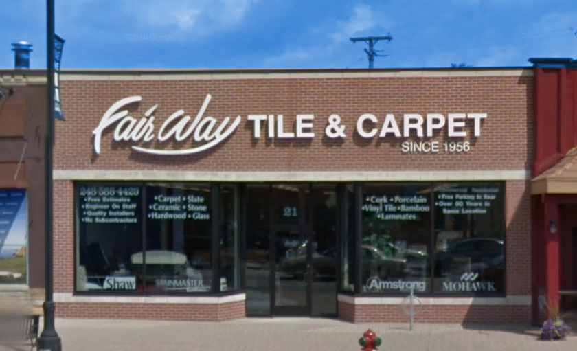 Fairway Tile and Carpet Store Front